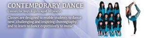 Joanna Mardon School of Dance Exeter Contemporary Dance header