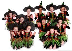 Joanna Mardon School of Dance Exeter Grade 1 Senior Ballet students