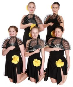 Joanna Mardon School of Dance Exeter Grade 5 Tap students