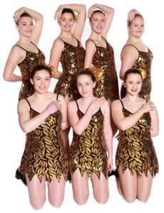 Joanna Mardon School of Dance Exeter Intermediate Tap students