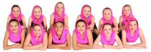Joanna Mardon School of Dance Exeter Performance Jazz 2 students