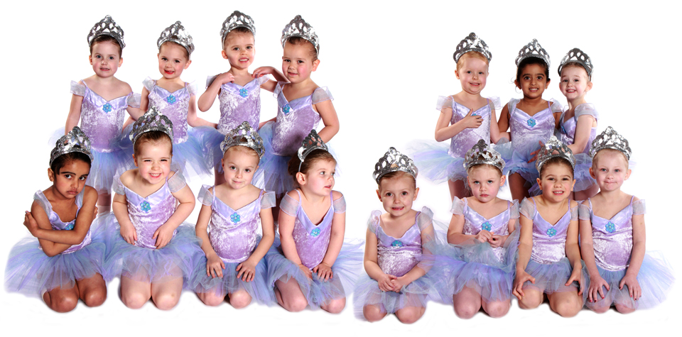 Joanna Mardon School of Dance Exeter Preprimary Junior Ballet students