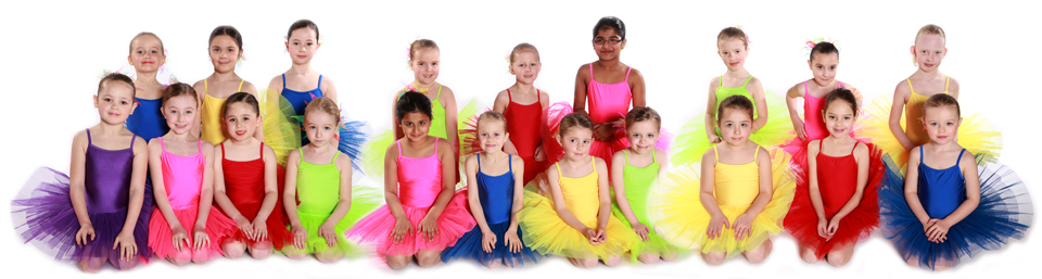 Joanna Mardon School of Dance Exeter Primary Junior Ballet students