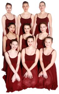 Joanna Mardon School of Dance Exeter Senior Ballet Performance Group students