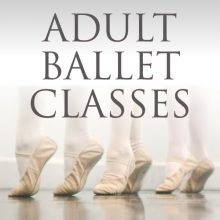 Adult Ballet -NEW TIME FROM JANUARY 6.30-7.15pm