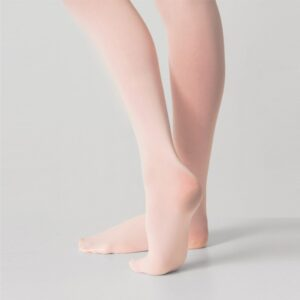 Joanna Mardon School of Dance Pink Silky Ballet Full Foot Tights