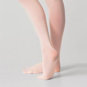 Joanna Mardon School of Dance Pink Silky Ballet Full Foot Tights