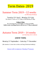 Joanna Mardon School of Dance Term Dates 2019 pdf download
