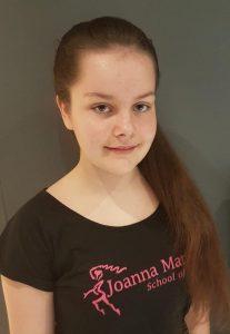Georgia Morrell Joanna Mardon School of Dance Jazz Dance Assistant