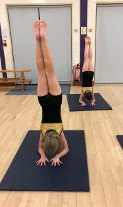 Acrobatic Arts Primary Group Joanna Mardon School of Dance Handstands