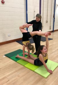 Acrobatic Arts Primary Group Joanna Mardon School of Dance with Miss Caroline