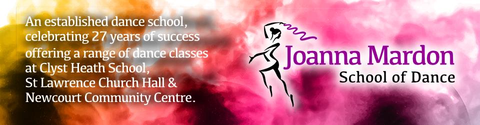 Joanna Mardon School of Dance established Dance School in Exeter