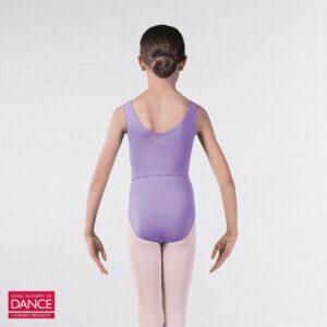 Joanna Mardon School of Dance Ballet Grade 6-8 leotard lilac back